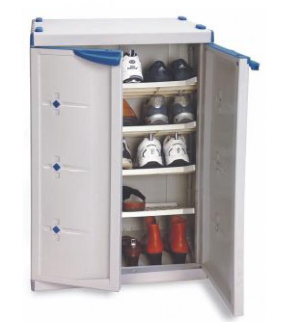 Armario plastico zapatero 65x45x95cm for Armario zapatero pvc
